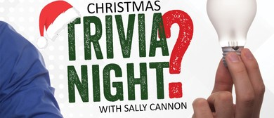 Christmas Trivia Night With Sally Cannon