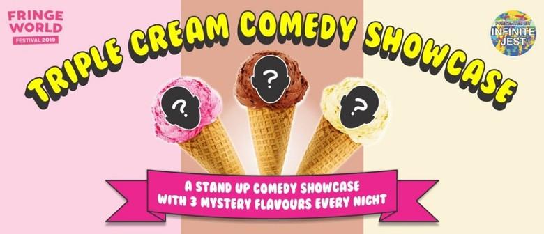 Triple Cream Comedy Showcase – Perth Fringe World 2019