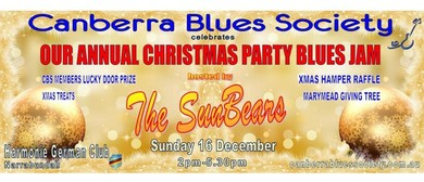 CBS Christmas Party Blues Jam Hosted by The SunBears