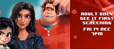 Adults See It First – Ralph Breaks the Internet