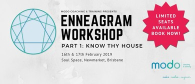 Enneagram Workshop: Part 1 Know Thy House