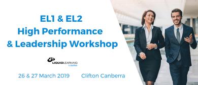 EL1 & EL2 High Performance & Leadership Workshop