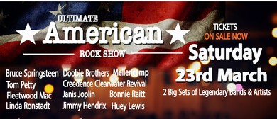 Ultimate American Rock Show – Dinner & Show Events