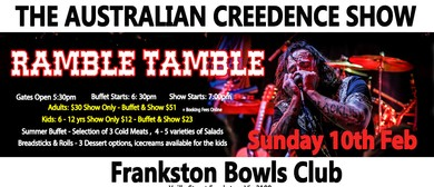 The Australian Creedence Show – Ramble Tamble