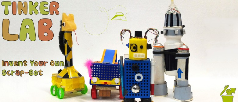 Tinker Lab – Invent Your Own Scrap-bot: Children's Workshop
