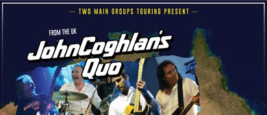 John Coghlan's Quo and Ted Mulry Gang