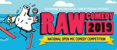 Raw Comedy 2019 WA