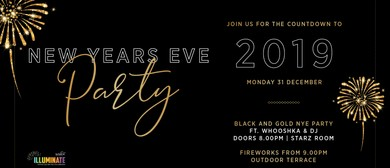 Black & Gold New Year's Eve Party