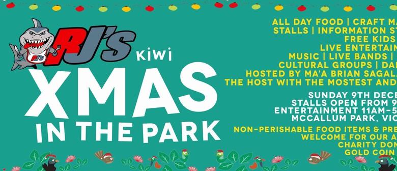 Rjs Kiwi Xmas In the Park 2018