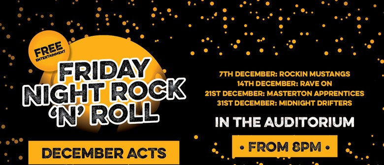 December Rock N Roll Bands