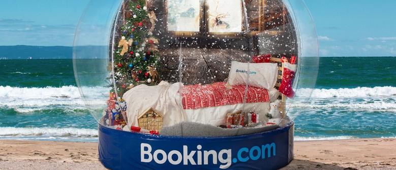 White Christmas Snow Globe