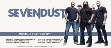 Sevendust Australia and NZ Tour 2019