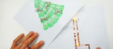 MoB Kids: Light-Up Christmas Cards