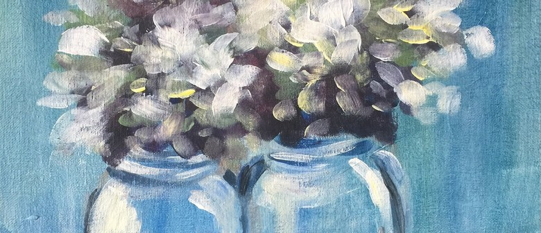 Social Painting Workshop – Heavenly Hydrangeas