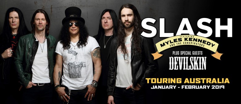 Slash Ft. Myles Kennedy & The Conspirators