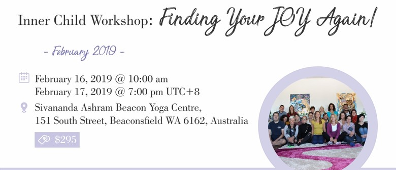 Inner Child Workshop: Finding Your Joy Again