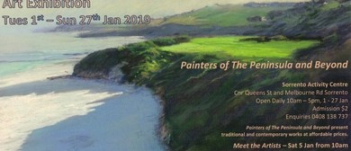 Painters of The Peninsula and Beyond Art Exhibition