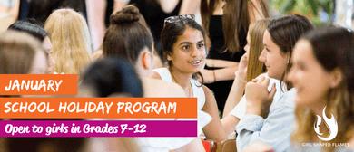 January School Holidays Program: Girl Shaped Flames – Meetup