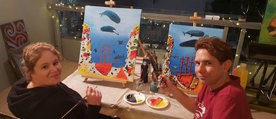 Paint & Sip Social Art Classes – 2 for 1