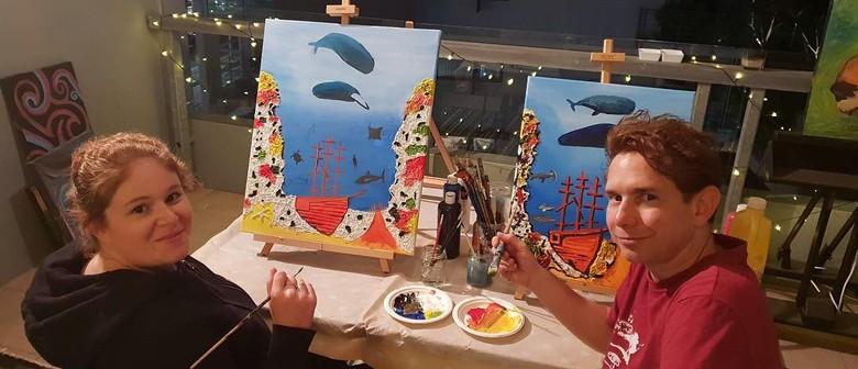 Paint & Sip Social Art Classes – 2 for 1