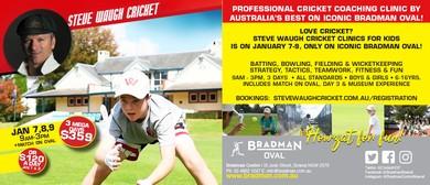 Steve Waugh Cricket Clinic – January