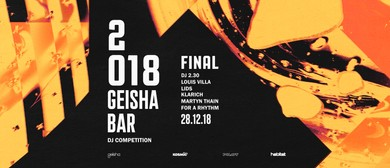 Geisha Bar DJ Comp – Final
