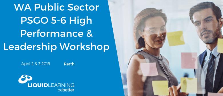PSGO 5–6 High Performance & Leadership Workshop