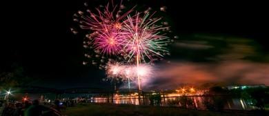 2018 Stroud Homes Bundaberg NYE Family Fireworks