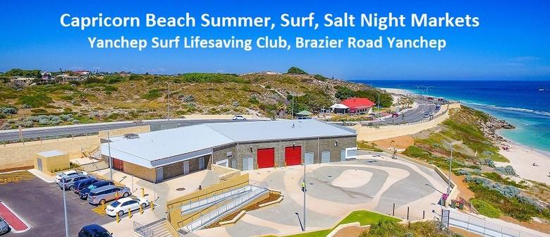 Capricorn Beach Summer, Surf, Salt Night Markets