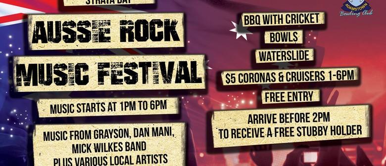 Straya Day Aussie Rock Music Festival