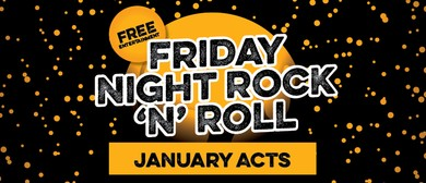 January Rock N Roll Bands