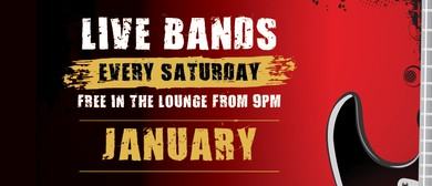 January Saturday Bands