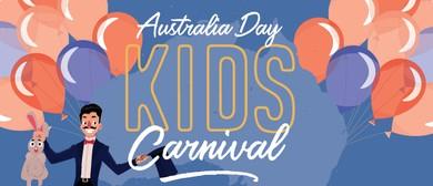 Australia Day Kids Carnival