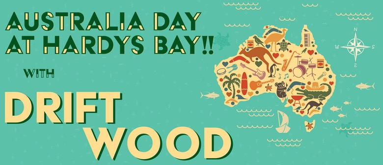 Australia Day With Driftwood