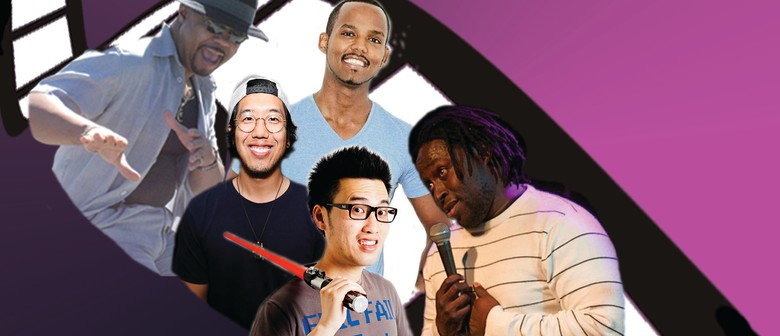 African American & Asian Stand Up Comedy Tour
