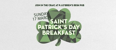 St. Patrick's Day Breakfast and Long Weekend