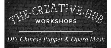 DIY Chinese Dragon Puppet & Opera Mask Workshop