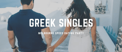Greek Singles Speed Dating Party