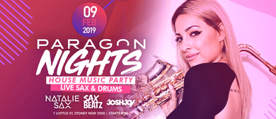 Paragon Nights With Natalie Sax