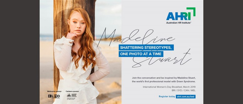 International Women's Day With Madeline Stuart