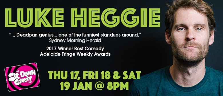 Stand Up Comedy With Luke Heggie