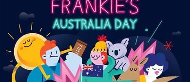 Frankie's Australia Day