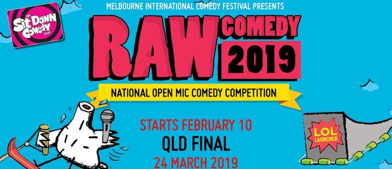 Raw Comedy 2019 – Heat 1