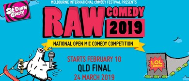 Raw Comedy 2019 – QLD State Final
