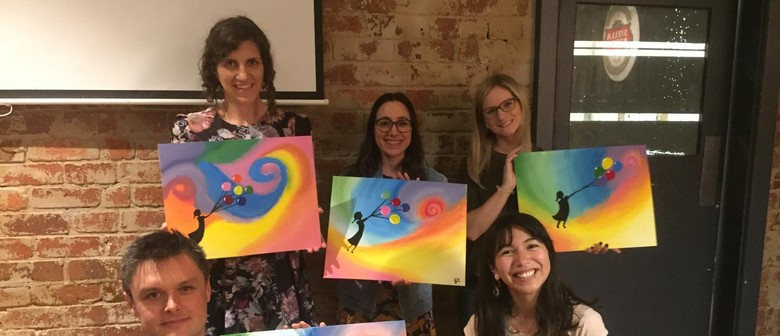 Light As a Butterfly – Beginners Painting Event With a Twist