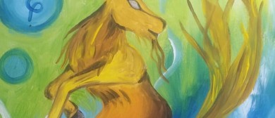 Paint Your Zodiac Sign! Beginners Painting Event