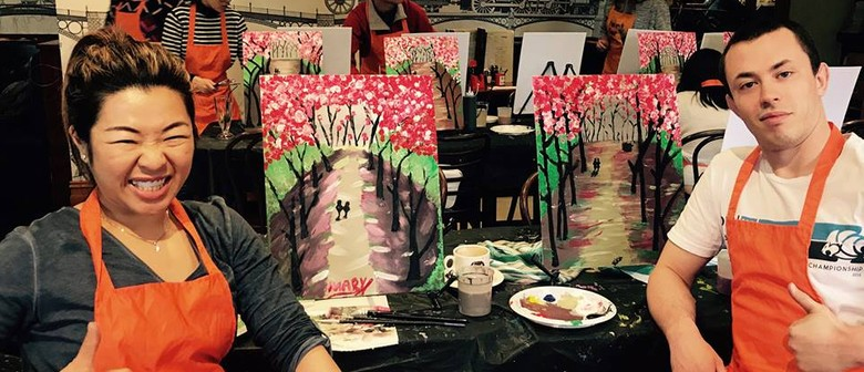 Valentine's Day Painting Class – For The Love Birds