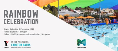 Carlton Baths Rainbow Celebration