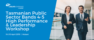 Tasmanian Public Sector Bands 4–5 Leadership Workshop