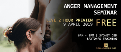 Anger Management Course for Adults
